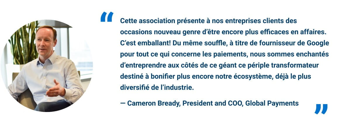 quote from Cameron Bready