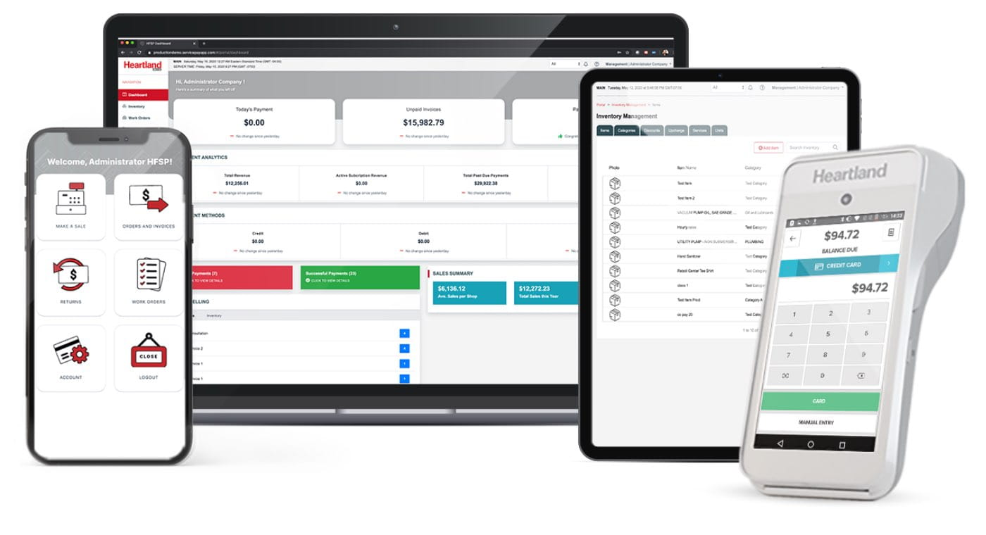 A feature image of enterprise business solutions products for payments, customer engagement, and capital