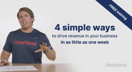 Free training for 4 simple ways to drive revenue in your business in as little as one week
