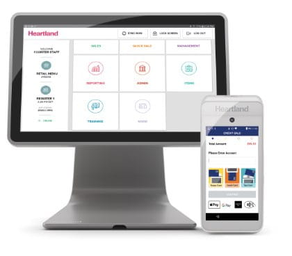 Heartland online payment solutions for terminal