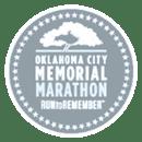 Oklahoma City Memorial Marathon logo