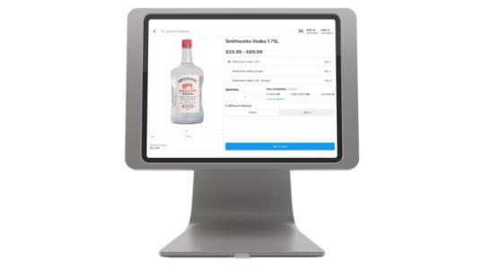 Heartland liquor solutions product close up
