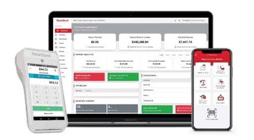 Product suite close up of payment processing and pos for service professionals