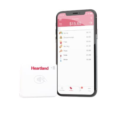 Close up on Heartland Mobile Pay