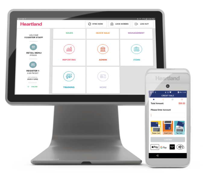 Heartland payment processing, point of sale, and payroll solutions for small businesses