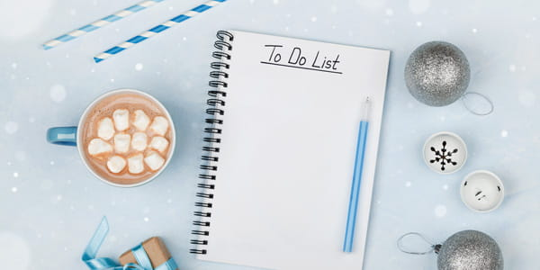 Payments Checklist for Christmas
