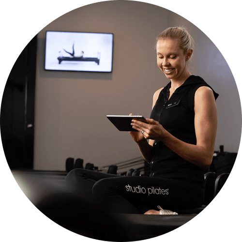 Studio Pilates setting up recurring payments with Direct Debit
