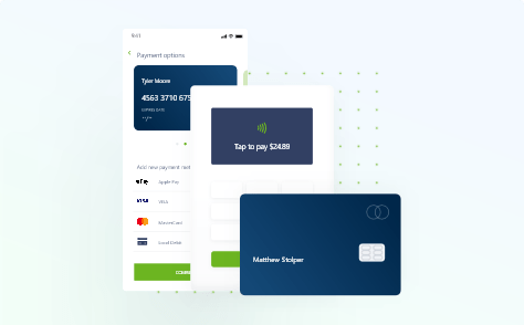 card readers for payments illustration from Global Payments Integrated