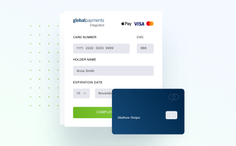 online payment illustration from Global Payments Integrated