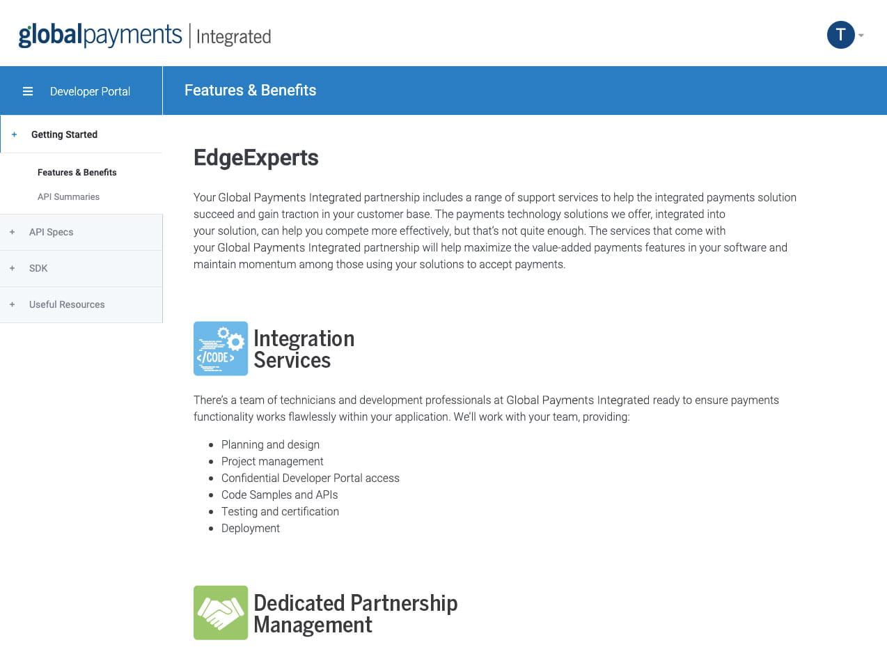 EdgeExperts screenshot